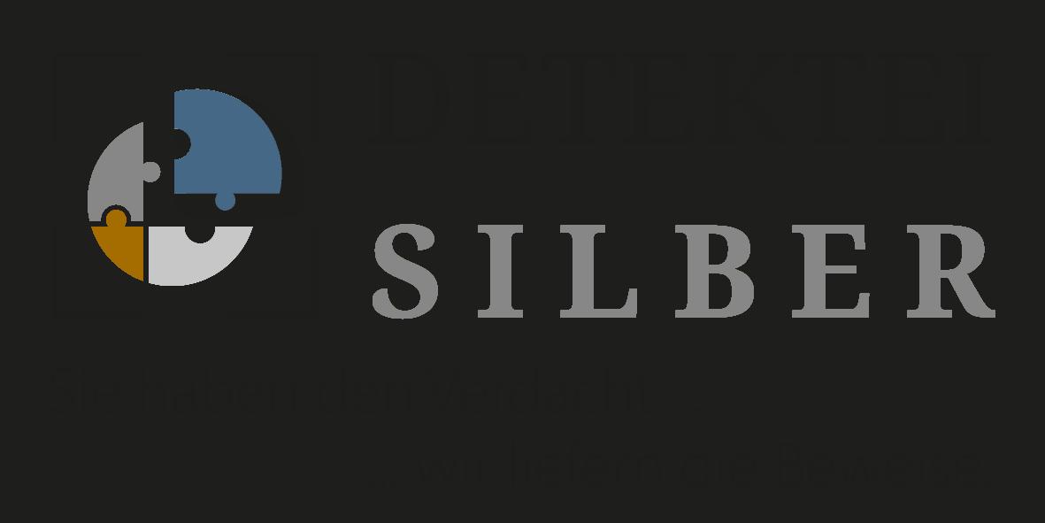 Logo Detektei Silber